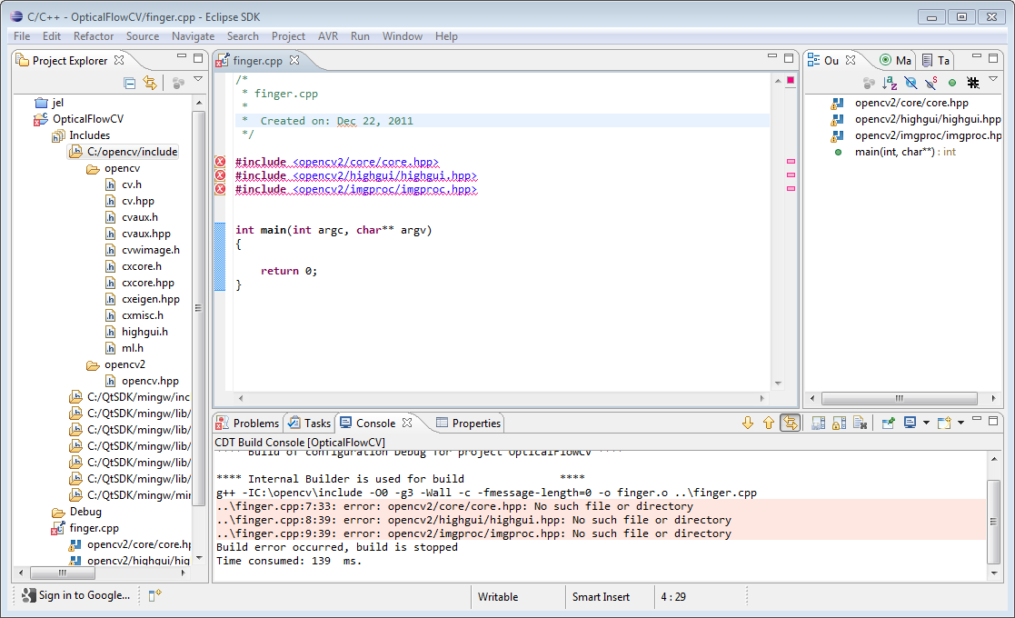 Eclipse IDE for C Developers
